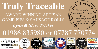 Truly Traceable Game Pies & Sausage Rolls